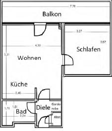 1 zimmerwohnung in neuss bei d sseldorf. Black Bedroom Furniture Sets. Home Design Ideas